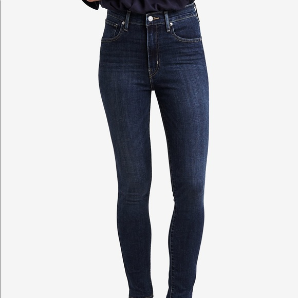 Just Jeans LEVIS MILE HIGH SUPER SKINNY IN INDIGO CANVAS
